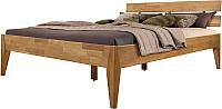 Каркас кровати Stanles Эльке 140x200 (дуб с воском) -