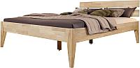 Каркас кровати Stanles Эльке 140x200 (отбеленный дуб) -