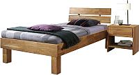 Каркас кровати Stanles Джудит 90x200 (дуб с воском) -