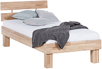 Каркас кровати Stanles Джудит 90x200 (отбеленный дуб) -