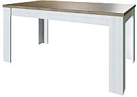 Обеденный стол Anrex Provence (вудлайн кремовый/дуб каньон) -