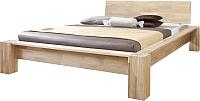 Каркас кровати Stanles Стокгольм 140x200 (отбеленный дуб) -