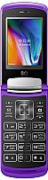 Мобильный телефон BQ Dream Duo BQ-2433 (фиолетовый зеркальный) -