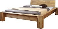 Каркас кровати Stanles Стокгольм 160x200 (дуб с воском) -