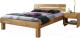 Каркас кровати Stanles Джудит 160x200 (дуб с воском) -