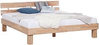 Каркас кровати Stanles Джудит 160x200 (отбеленный дуб) -