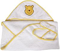 Полотенце-фартук Polini Kids Disney baby Медвежонок Винни Чудесный день с вышивкой (желтый) -
