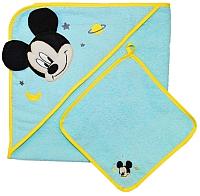Комплект для купания Polini Kids Disney baby Микки Маус с вышивкой (бирюзовый) -