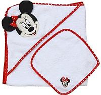 Комплект для купания Polini Kids Disney baby Минни Маус с вышивкой (красный) -