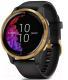 Умные часы Garmin Venu / 010-02173-33 (золото/черный) -