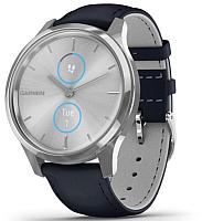 Умные часы Garmin Vivomove Luxe / 010-02241-20 (серебристый) -