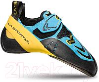 Скальные туфли La Sportiva Futura / 20R600100 (р-р 41, синий/желтый) -