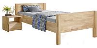 Каркас кровати Stanles Ханс 90x200 (отбеленный дуб) -