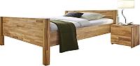 Каркас кровати Stanles Ханс 140x200 (дуб с воском) -