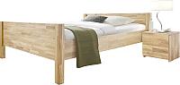 Каркас кровати Stanles Ханс 140x200 (отбеленный дуб) -