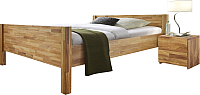 Каркас кровати Stanles Ханс 160x200 (дуб с воском) -