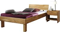Каркас кровати Stanles Ева 90x200 (дуб с воском) -