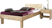 Каркас кровати Stanles Ева 90x200 (отбеленный дуб) -