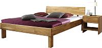 Каркас кровати Stanles Ева 160x200 (дуб с воском) -