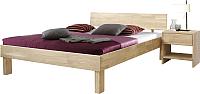 Каркас кровати Stanles Ева 160x200 (отбеленный дуб) -