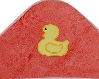 Полотенце с капюшоном Alis Зверята New (коралловый) -