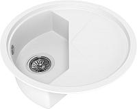 Мойка кухонная KitKraken Stream C-510M (белый) -