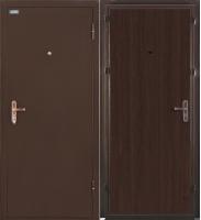 Входная дверь el'Porta Ультра Лайт Антик медь/Венге (85x205, правая) -