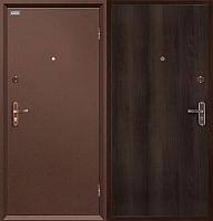 Входная дверь el'Porta Ультра Про Антик Медь/Венге (85x205, правая) -