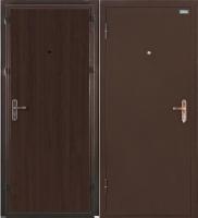 Входная дверь el'Porta Ультра Лайт Антик медь/Венге (95x205, левая) -