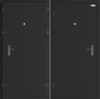 Входная дверь el'Porta Ультра Плюс Антик серебристый/Антик серебристый (95x205, левая) -
