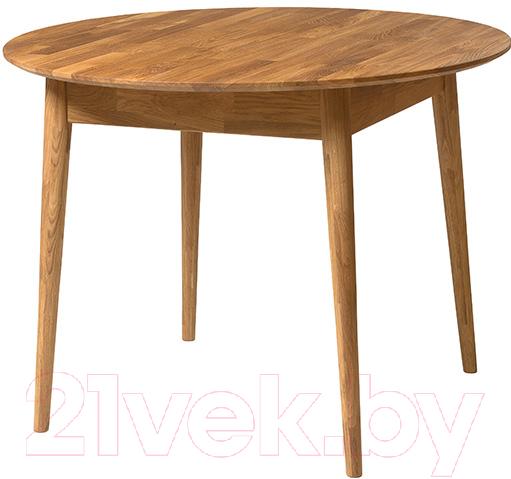 Купить Обеденный стол Stanles, Сканди 3 (дуб с воском), Беларусь