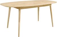 Обеденный стол Stanles Сканди 2 (отбеленный дуб) -