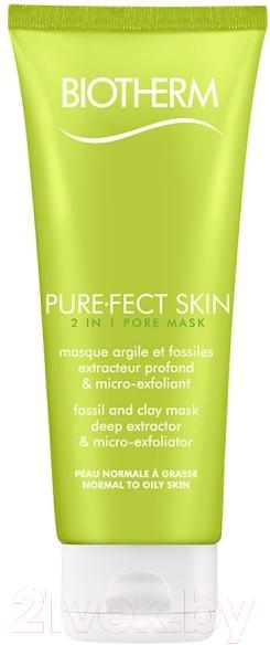 Купить Маска для лица кремовая Biotherm, Purefect Skin очищающая (75мл), Франция, Purefect Skin (Biotherm)