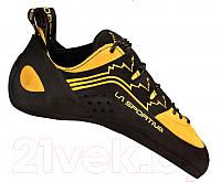 Скальные туфли La Sportiva Katana Laces 800 (р-р 39.5, желтый/черный) -