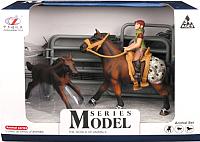 Игровой набор Maya Toys Наездник и лошади / Q9899-Y3 -