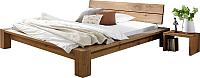 Каркас кровати Stanles Фьорд 140x200 (дуб) -