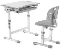 Парта+стул FunDesk Piccolino III (серый) -