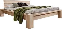 Каркас кровати Stanles Фьорд 140x200 (отбеленный дуб) -