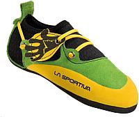 Скальные туфли La Sportiva Stickit 802 (р-р 32, лайм/желтый) -