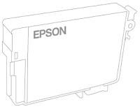 Емкость для отработанных чернил Epson T6713 (C13T671300) -