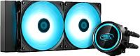 Кулер для процессора Deepcool GammaXX L240T Blue (DP-H12RF-GL240TB) -