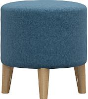 Пуф Woodcraft Виви (синяя шерсть) -