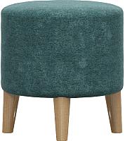 Пуф Woodcraft Виви (зеленый шенилл) -