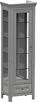 Шкаф-пенал с витриной WellMaker Норманн ШВ1-60 ПП (люберон) -