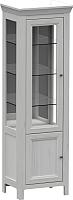 Шкаф-пенал с витриной WellMaker Норманн ШВ2-60 ПП (дижон) -