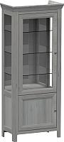 Шкаф с витриной WellMaker Норманн ШВ2-80 ПП (люберон) -