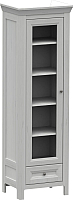 Шкаф-пенал с витриной WellMaker Норманн ШП1-60 ПП (дижон) -