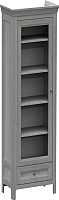 Шкаф-пенал с витриной WellMaker Норманн ШП1-60 ПП (люберон) -
