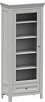 Шкаф с витриной WellMaker Норманн ШП1-80 ПП (дижон) -