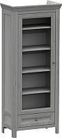 Шкаф с витриной WellMaker Норманн ШП1-80 ПП (люберон) -